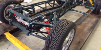 TVR Chimaera 450 chassis and suspension restoration