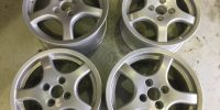 TVR Alloy wheel restored