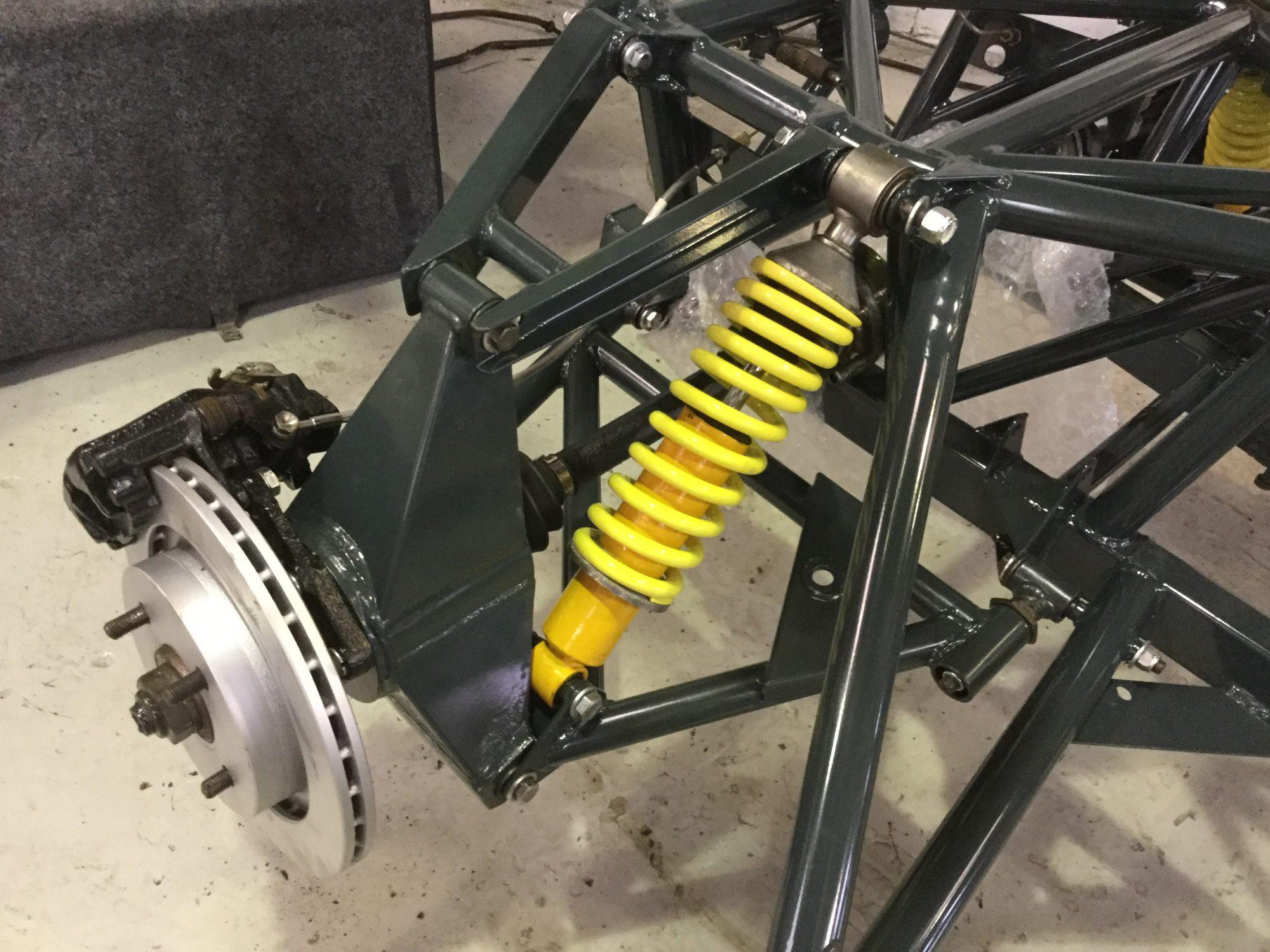 TVR Chimaera 450 restoration